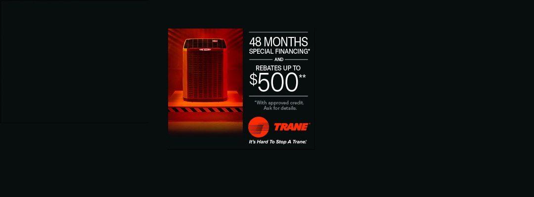Murfreesboro HVAC company Trane Spring Promo ad